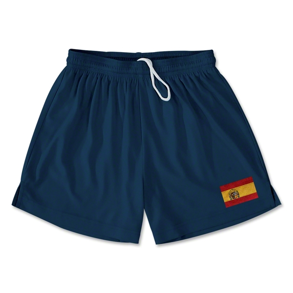 Spain Team Soccer Shorts (Navy)
