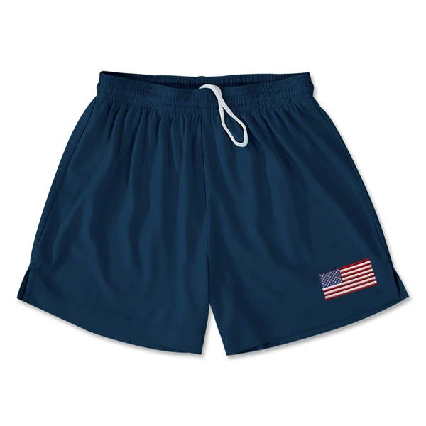USA Team Soccer Shorts (Navy)