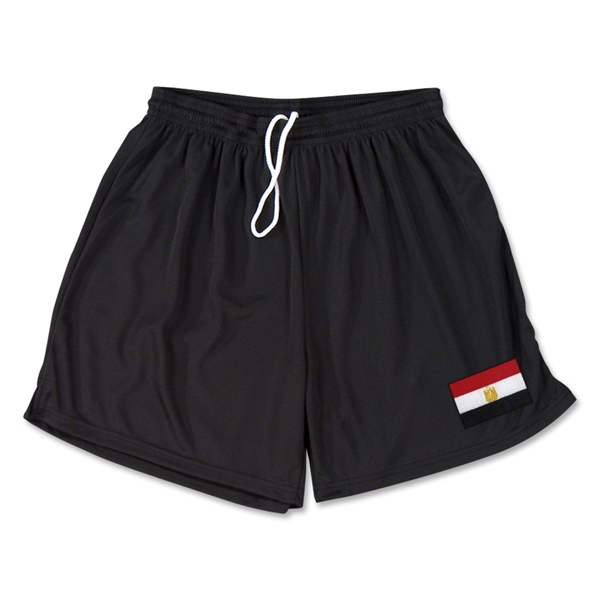 Egypt Team Soccer Shorts (Black)