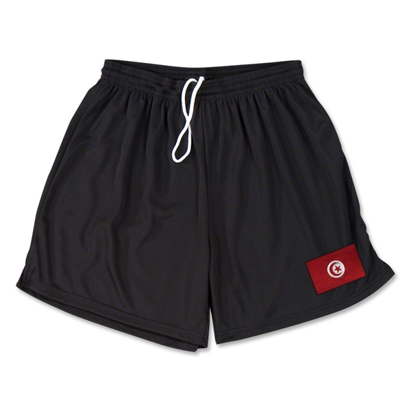 Tunisia Team Soccer Shorts (Black)