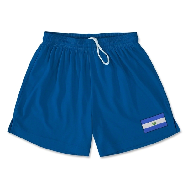 El Salvador Team Soccer Shorts (Royal)