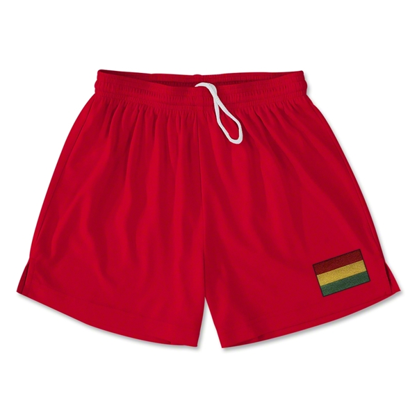 Bolivia Team Soccer Shorts (Red)