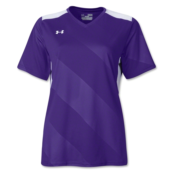 Under Armour Women's Fixture Jersey (Pur/Wht)