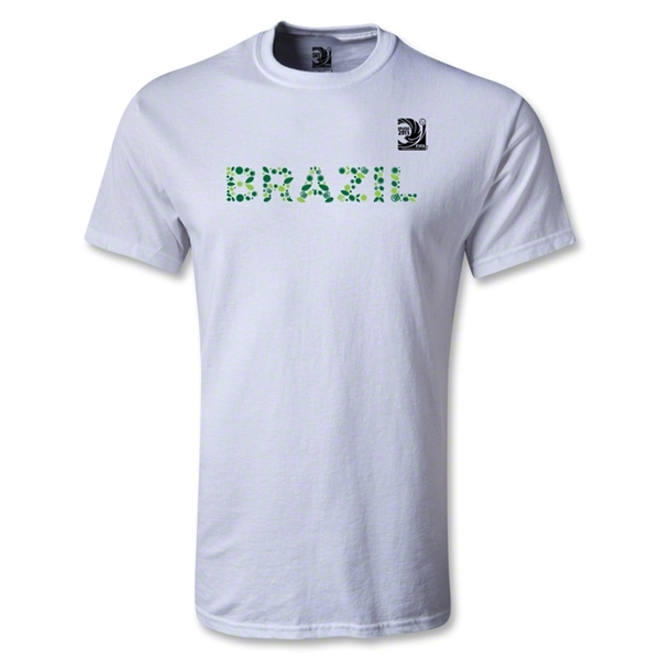 FIFA Confederations Cup 2013 Brazil T-Shirt (White)