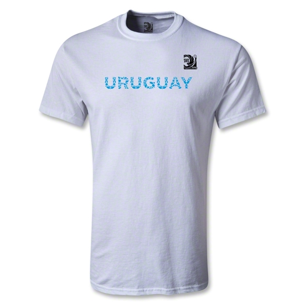 FIFA Confederations Cup 2013 Uruguay T-Shirt (White)