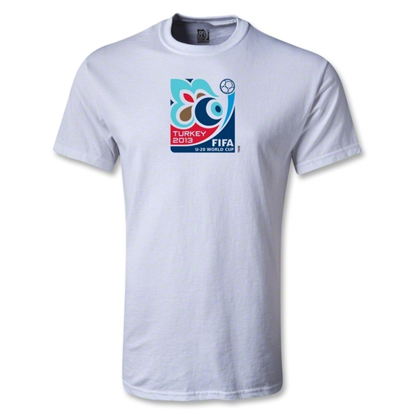 FIFA U-20 World Cup Turkey 2013 Emblem T-Shirt (White)