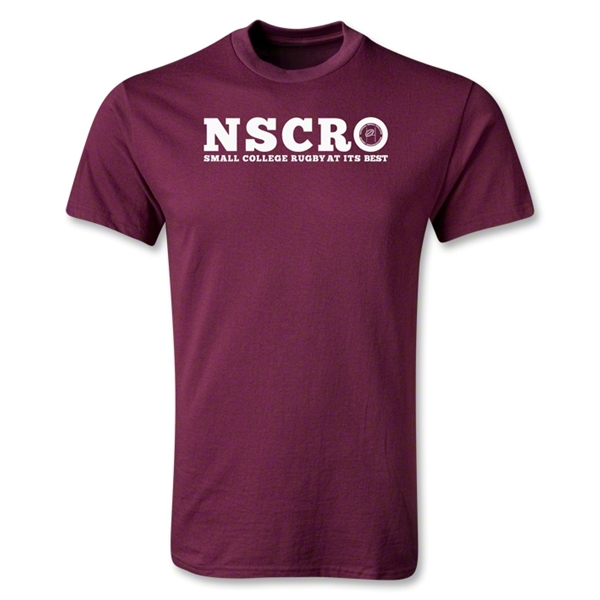 NSCRO 'At Its Best' T-Shirt (Maroon)
