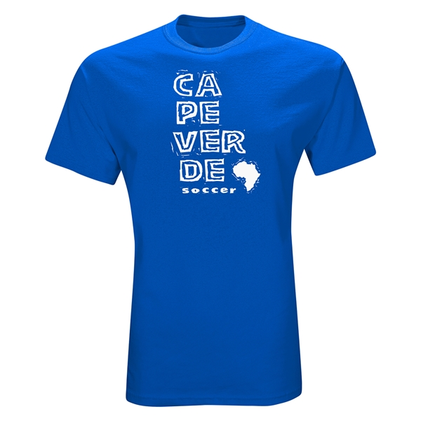 Cape Verde Country T-Shirt (Royal)