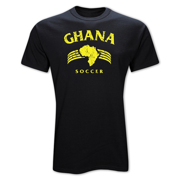 Ghana Country T-Shirt (Black)