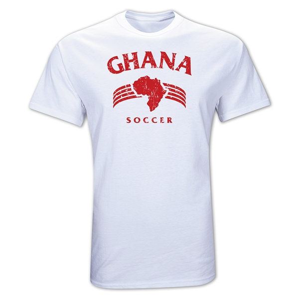 Ghana Country T-Shirt (White)