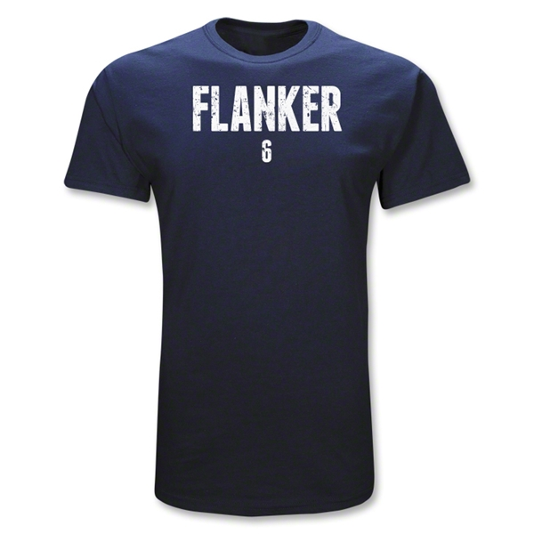 Flanker 6 Position Rugby T-Shirt (Navy)