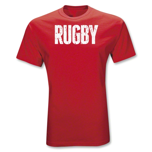 RUGBY Statement T-Shirt (Red)