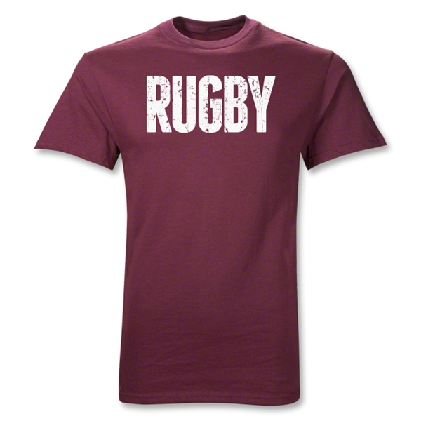 Faded Rugby Logo Shirt (Maroon)