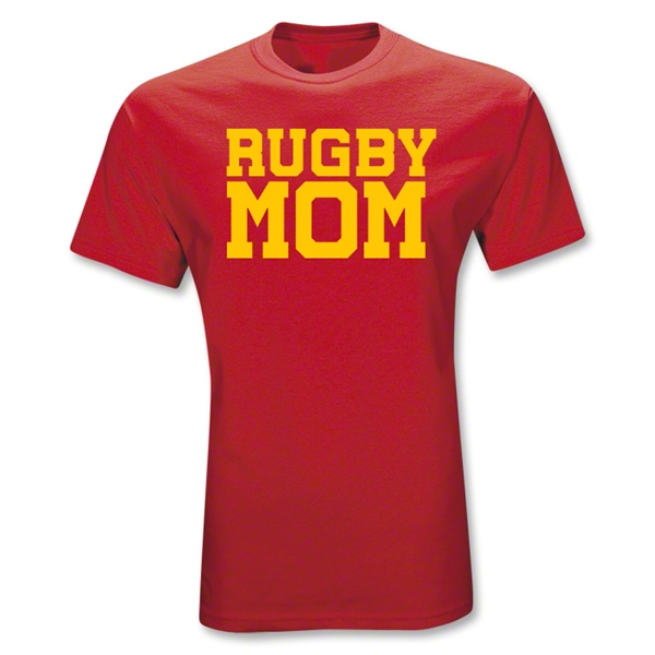 Rugby Mom T-Shirt (Red)