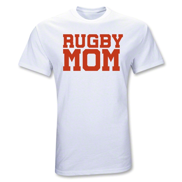 Rugby Mom T-Shirt (White)