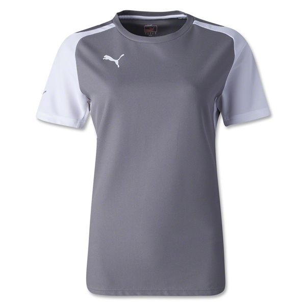 PUMA Women's Speed Jersey (Gray)
