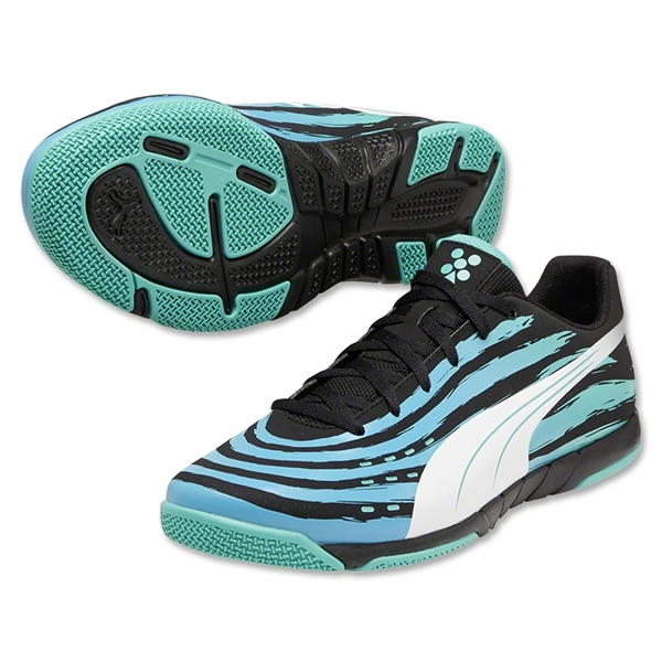 Puma Trovan Lite (Black/White/Pool Green)