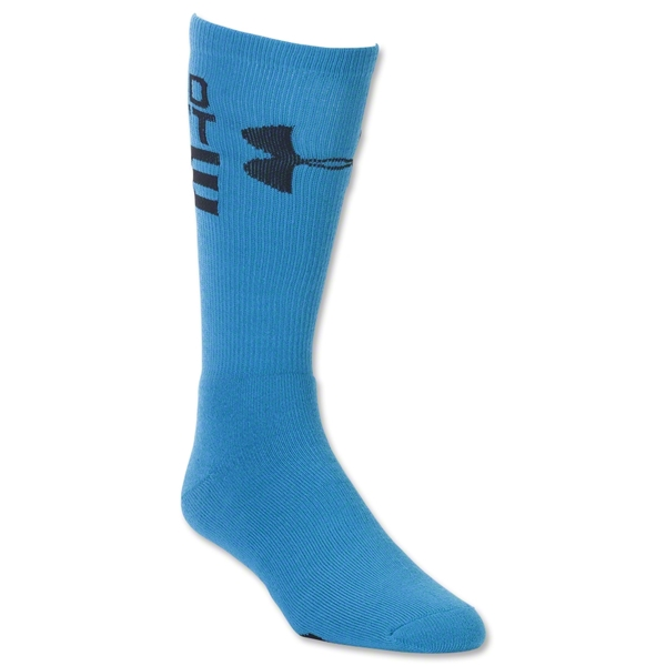 Under Armour Speed Don't Lie Crew Sock (Roy/Blk)