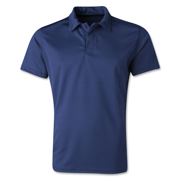 Men's Poly Polo (Navy)