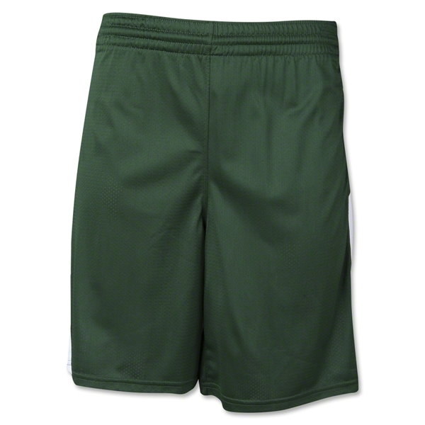 Warrior Burn Stock Game Short (Dk Gr/Wht)