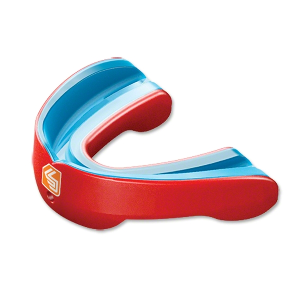 Shock Doctor Gel Nano Convertible Mouthguard (Red)