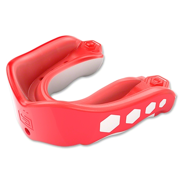 Shock Doctor Gel Max Flavor Fusion Youth Mouthguard (Red)