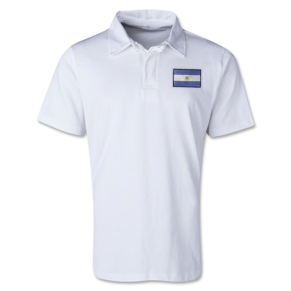 Argentina Retro Flag Shirt (White)