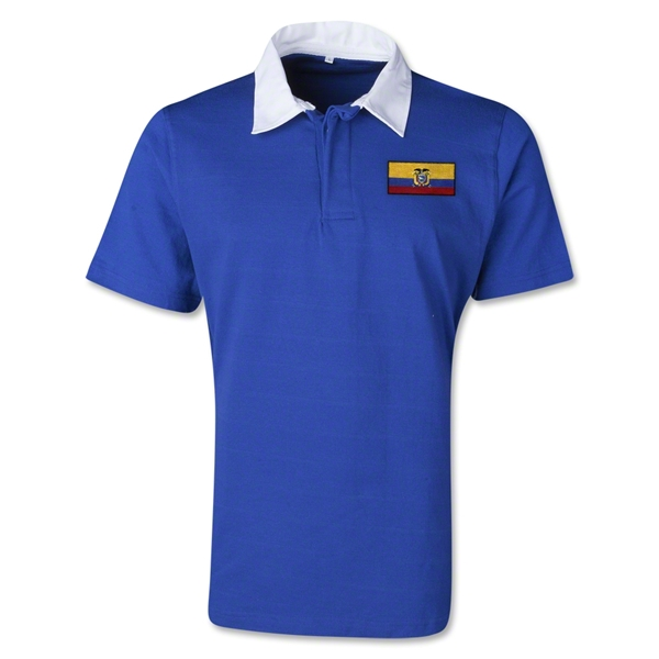 Ecuador Retro Flag Shirt (Royal)
