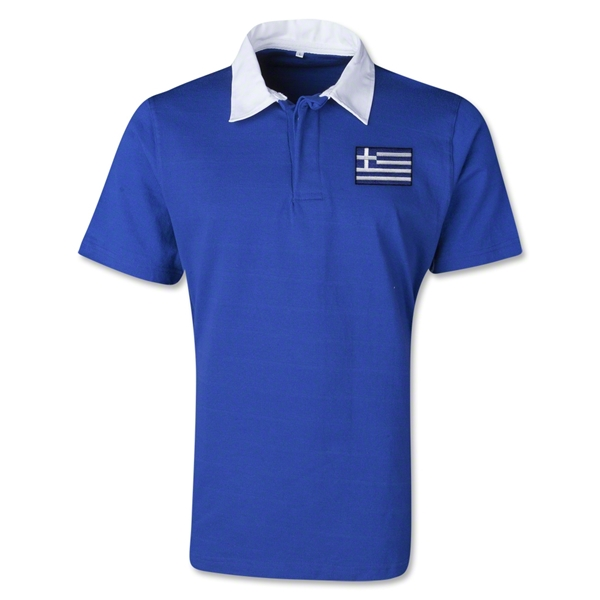 Greece Retro Flag Shirt (Royal)