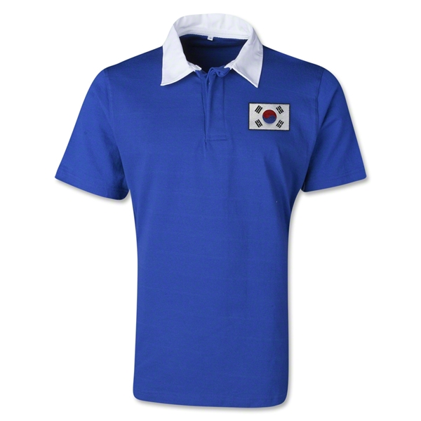 South Korea Retro Flag Shirt (Royal)
