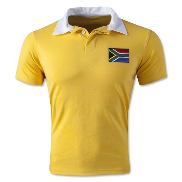 South Africa Retro Flag Shirt (Yellow)
