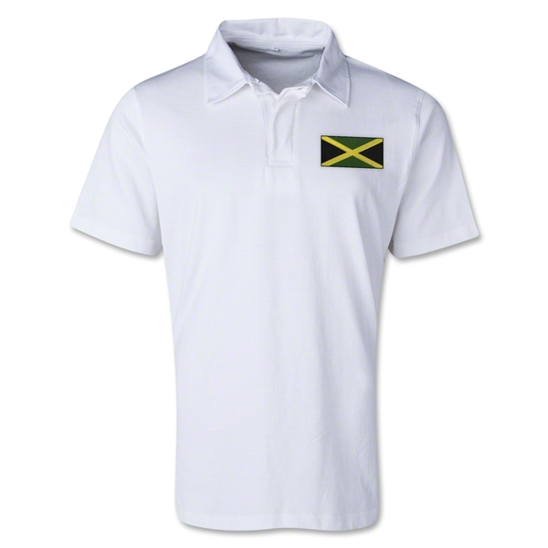 Jamaica Retro Flag Shirt (White)