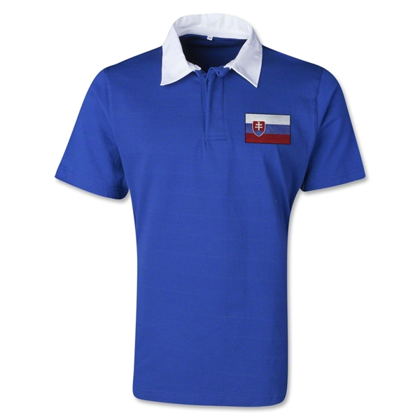 Slovakia Retro Flag Shirt (Royal)