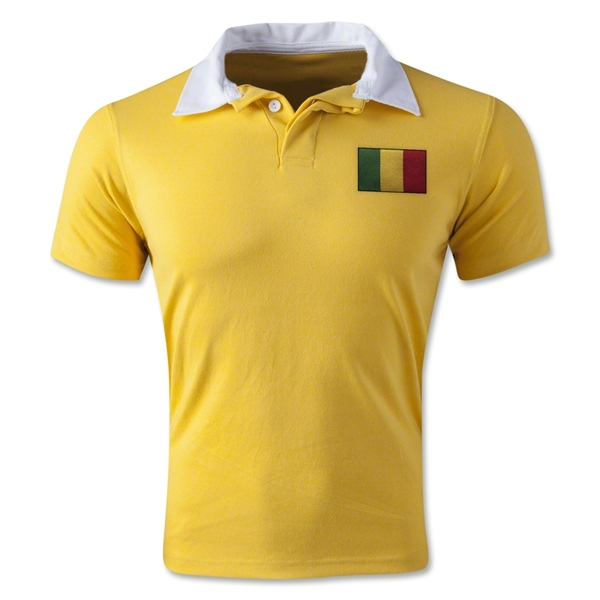 Mali Retro Flag Shirt (Yellow)