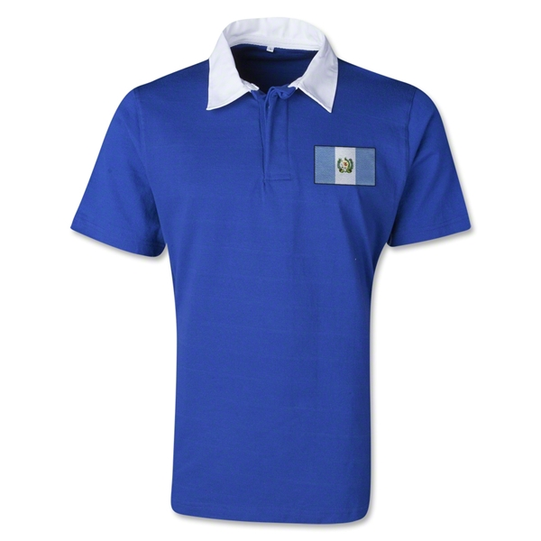 Guatemala Retro Flag Shirt (Royal)