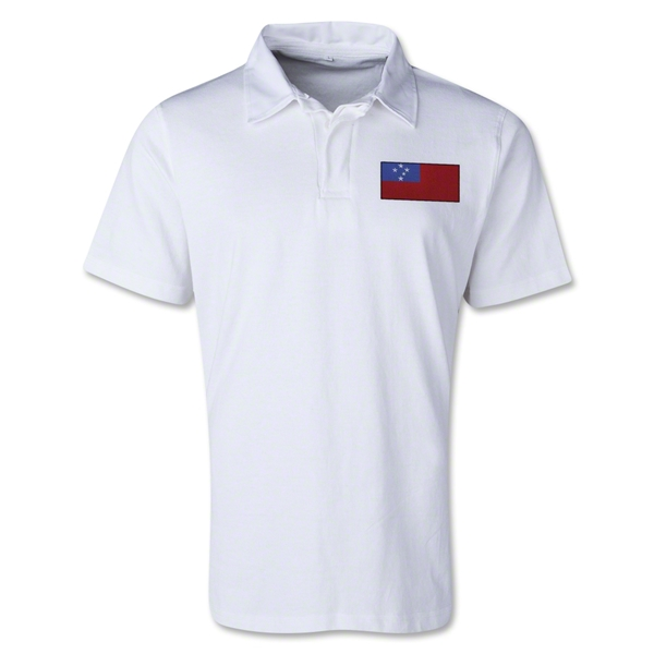 Samoa Retro Flag Shirt (White)