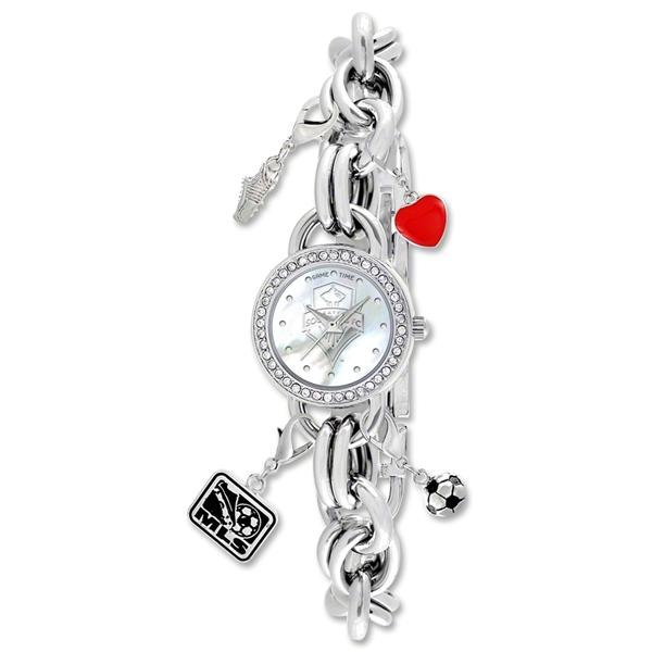Seattle Sounders Women's Charm Watch