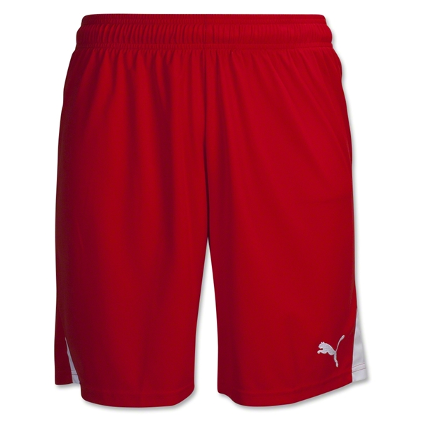 PUMA Team Soccer Shorts (Sc/Wh)