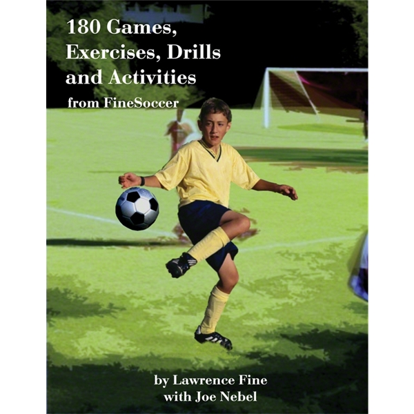 180 Games, Exercises, Drills from FineSoccer Soccer DVD
