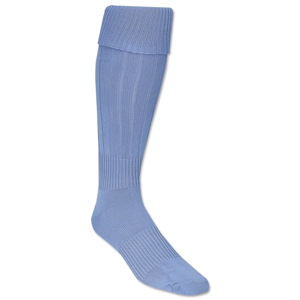 Classic Padded Solid Socks (Sky)