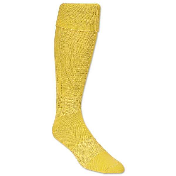 Classic Padded Solid Socks (Yellow)