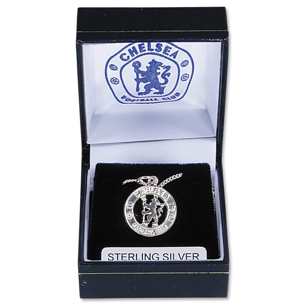 Chelsea Crest Silver Chain