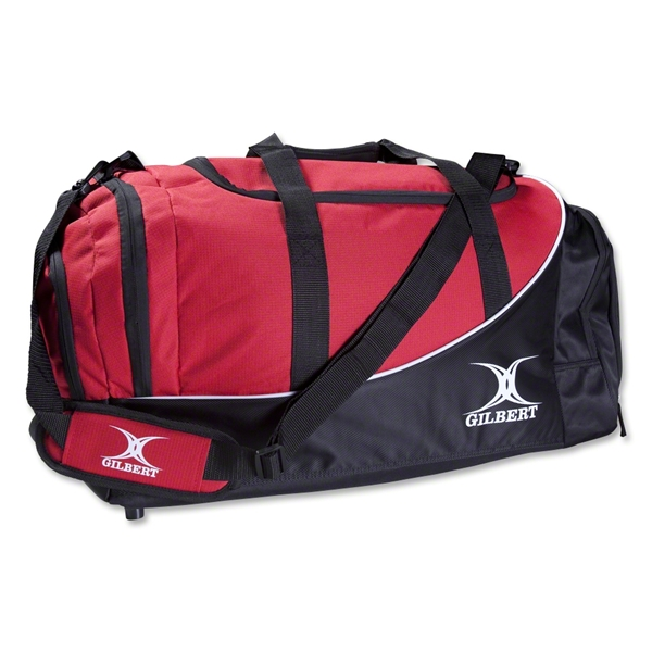 Gilbert Club Holdall V2 Duffle (Black/Red)