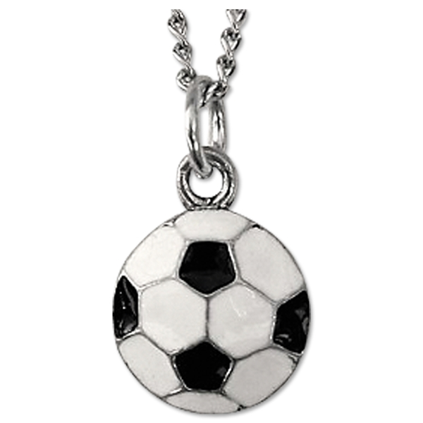 Enamel Ball Necklace