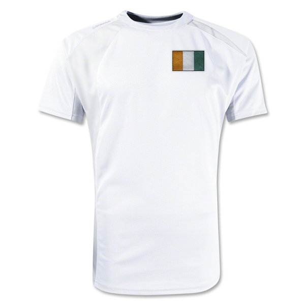 Cote d'Ivoire Gambeta Soccer Jersey (White)