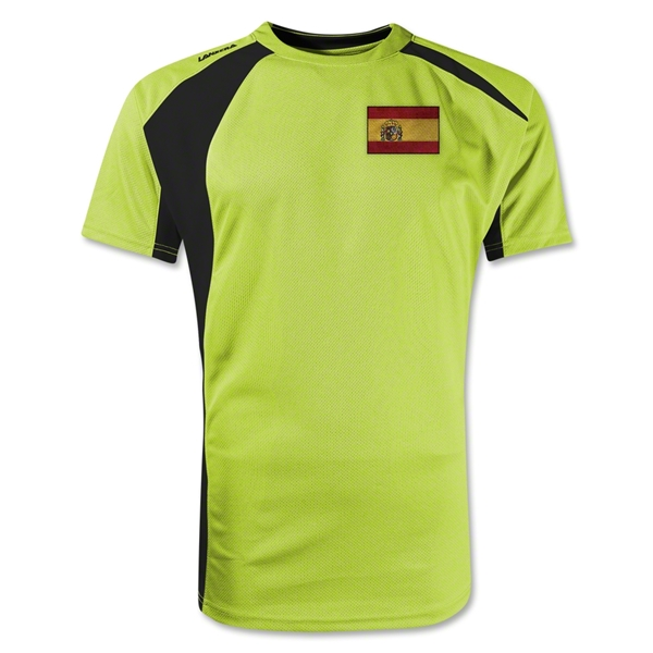Spain Gambeta Soccer Jersey (Yellow)
