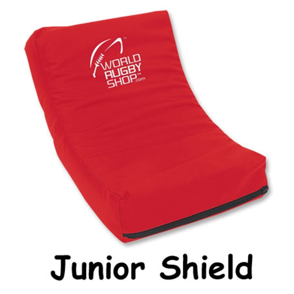Junior Rugby Shield (Red)