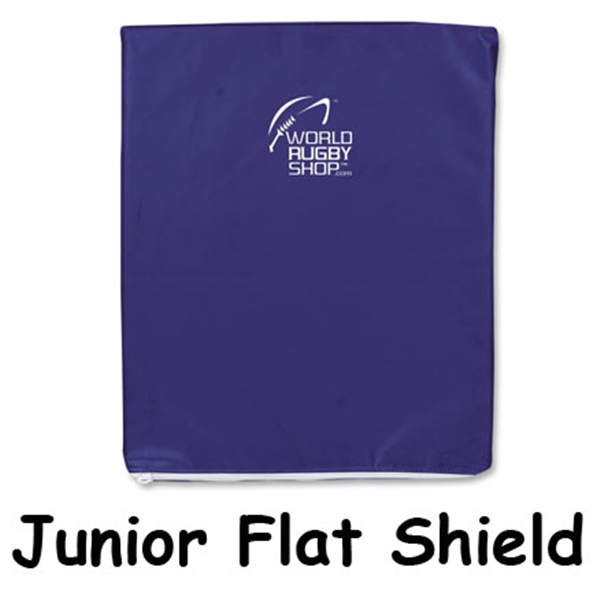 Junior Flat Shield (Navy)