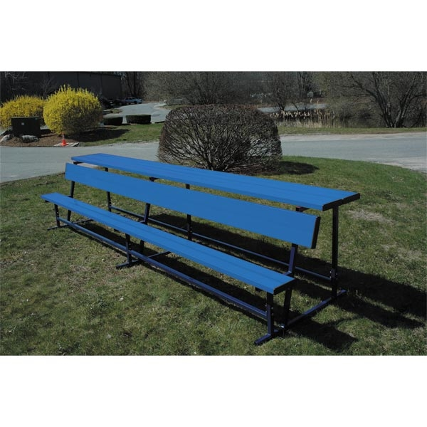 Goal Sporting Goods Bench w/ Shelf-Powder Coated (Royal)