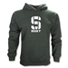 Michigan State University Rugby Hoody (Solid Logo)